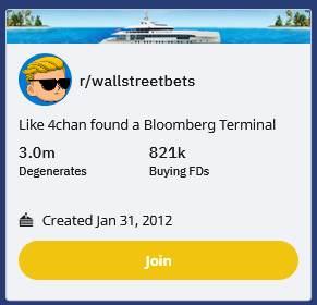 r/wallstreetbets Reddit backup site